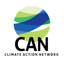 Logo of CAN - Climate Action Network