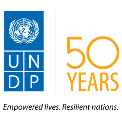 Logo of UNDP. Empowered lives. Resilient nations
