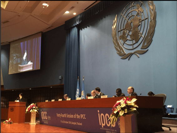 IPCC session examines pathways to 1.5°C temperature limit