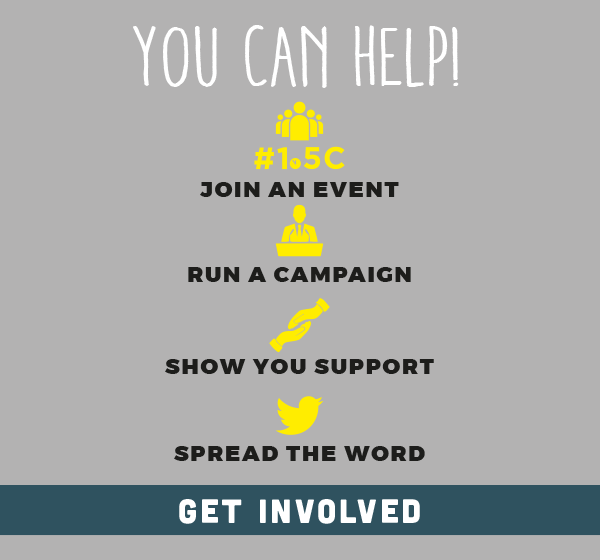 Infographic that says you can help by joining an event, run a campaign, show you support, spread the word.