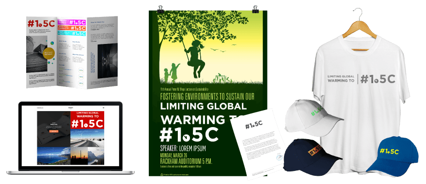 Image of 1o5c toolkits. Toolkit to be fantastic campaigner, help us limit the global warming to 1.5 degrees